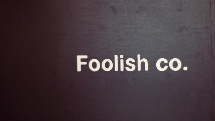 FOOLISH BANNER